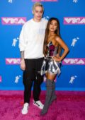 Ariana Grande attends 2018 MTV Video Music Awards (MTV VMA 2018) at Radio City Music Hall in New York City