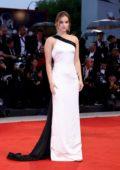 Barbara Palvin attends 'A Star Is Born' premiere during the 75th Venice Film Festival in Venice, Italy