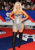Bebe Rexha attends 2018 iHeartRadio MuchMusic Video Awards (MMVA 2018) at MuchMusic HQ in Toronto, Canada