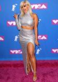 Bebe Rexha attends 2018 MTV Video Music Awards (MTV VMA 2018) at Radio City Music Hall in New York City