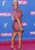 Blac Chyna attends 2018 MTV Video Music Awards (MTV VMA 2018) at Radio City Music Hall in New York City