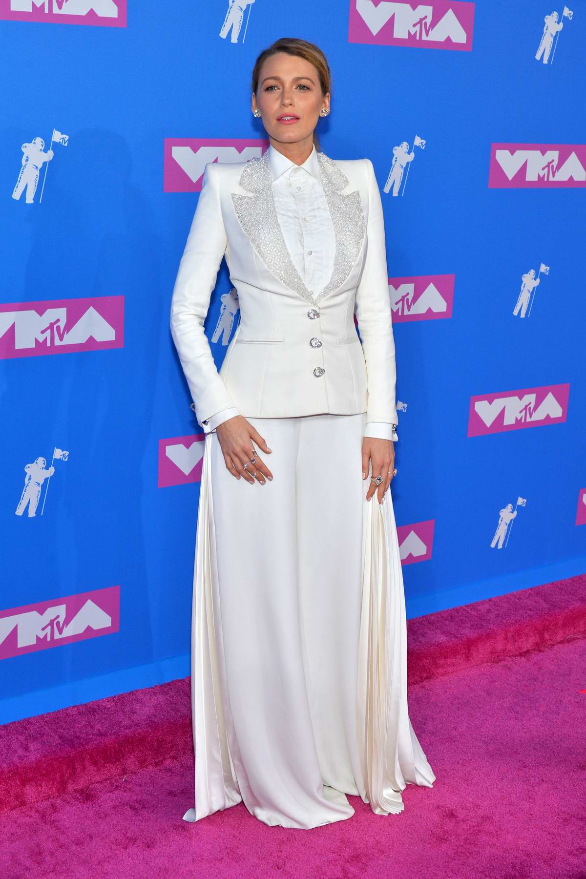 Blake Lively attends 2018 MTV Video Music Awards (MTV VMA 2018) at Radio City Music Hall in New York City