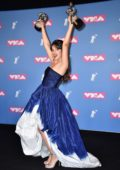 Camila Cabello attends 2018 MTV Video Music Awards (MTV VMA 2018) at Radio City Music Hall in New York City