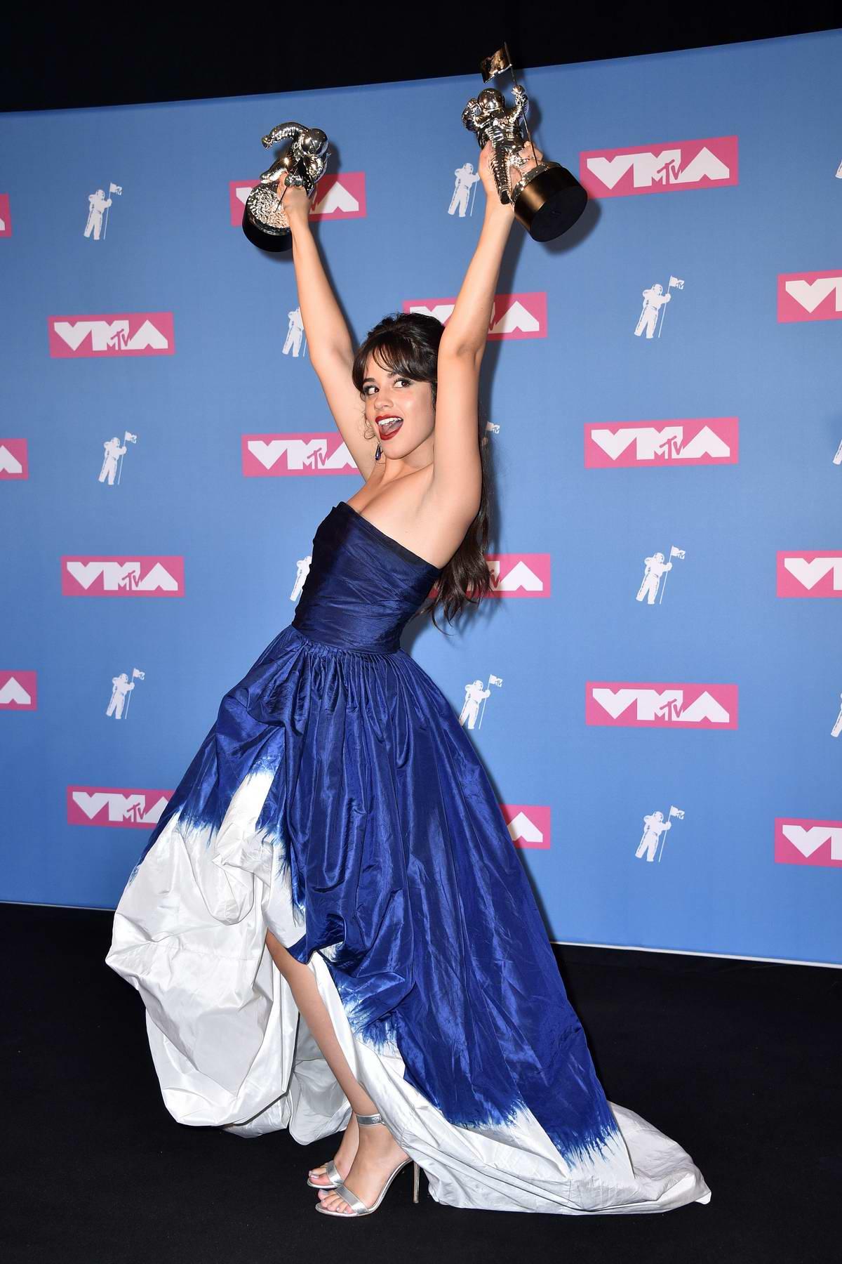 Camila Cabello attends 2018 MTV Video Music Awards (MTV VMA 2018) at Radio City Music Hall in New York City