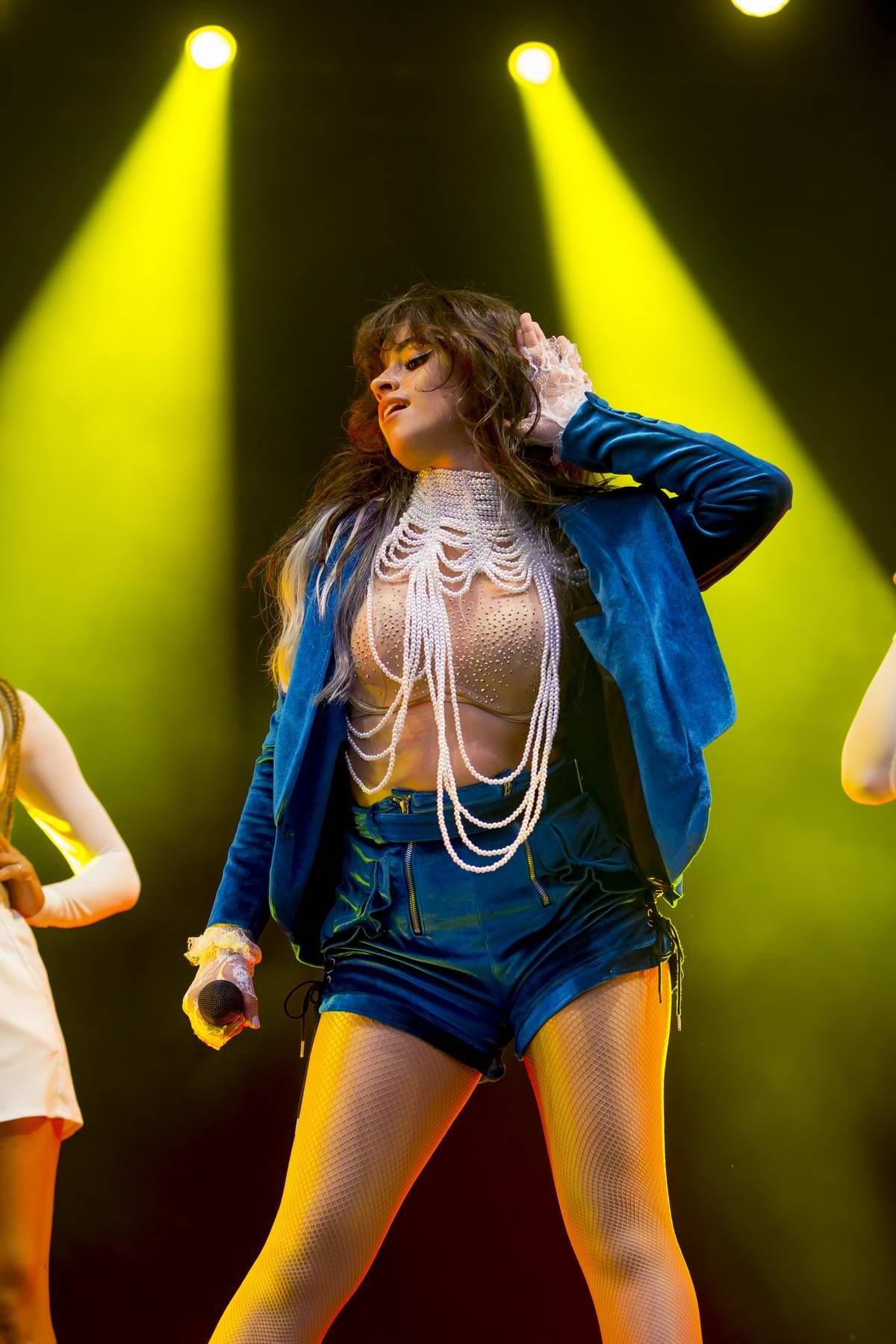Camila Cabello performs live at 2018 Lollapalooza Chicago Music Festival in Chicago, Illinois