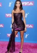 Chantel Jeffries attends 2018 MTV Video Music Awards (MTV VMA 2018) at Radio City Music Hall in New York City