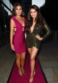 Charlotte Dawson attends The Spice Girls Exhibition in Manchester, UK