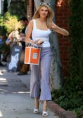 Charlotte McKinney looks radiant as she leaves Kate Sommerville Spa in Los Angeles