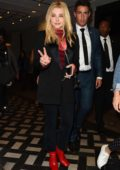 Chloe Grace Moretz seen leaving Sexy Fish restaurant in Mayfair, London, UK