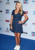 Emily Osment attends the 6th Annual Ping Pong 4 Purpose, honoring the Just Keep Livin Foundation at Dodger Stadium in Los Angeles
