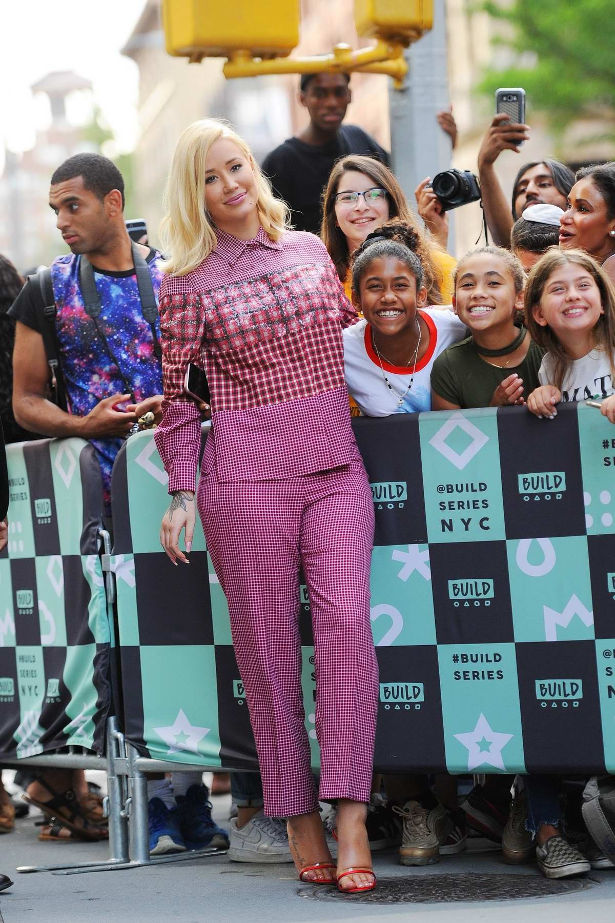 Iggy Azalea stops by the AOL Build Series to promote her new EP 'Surviving The Summer' in New York City