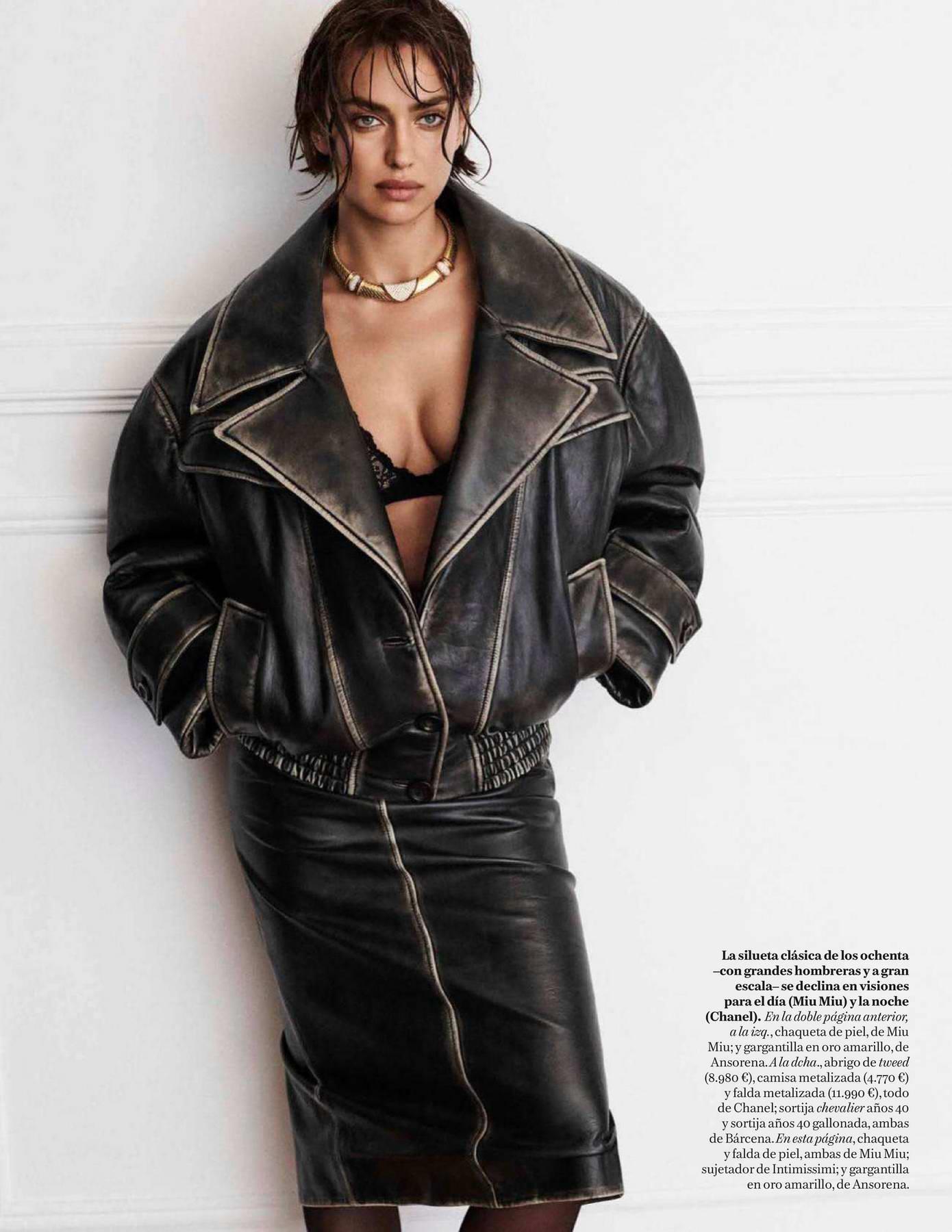 Irina Shayk features in Vogue, Espana - September 2018
