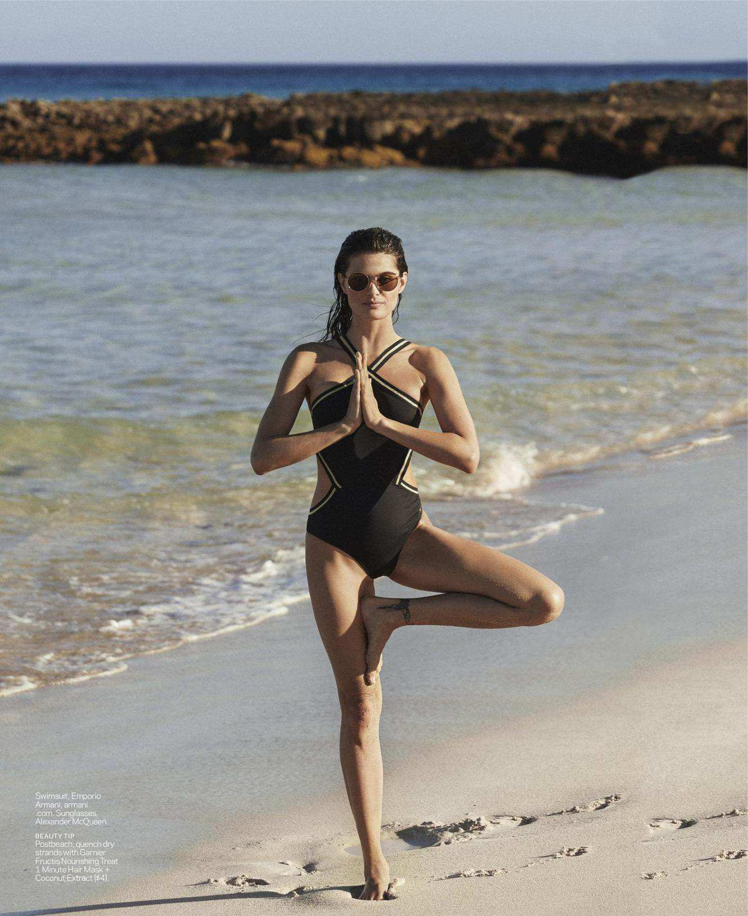 Isabeli Fontana features in ELLE Magazine, US - August 2018