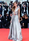 Izabel Goulart attends 'First Man' premiere and the Opening Ceremony of the 75th Venice International Film Festival in Venice, Italy