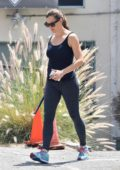 Jennifer Garner seen while picking up her daughter from The Emery Academy of Martial Arts in Los Angeles