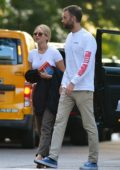 Jennifer Lawrence and Cooke Maroney heads to the movies in New York City