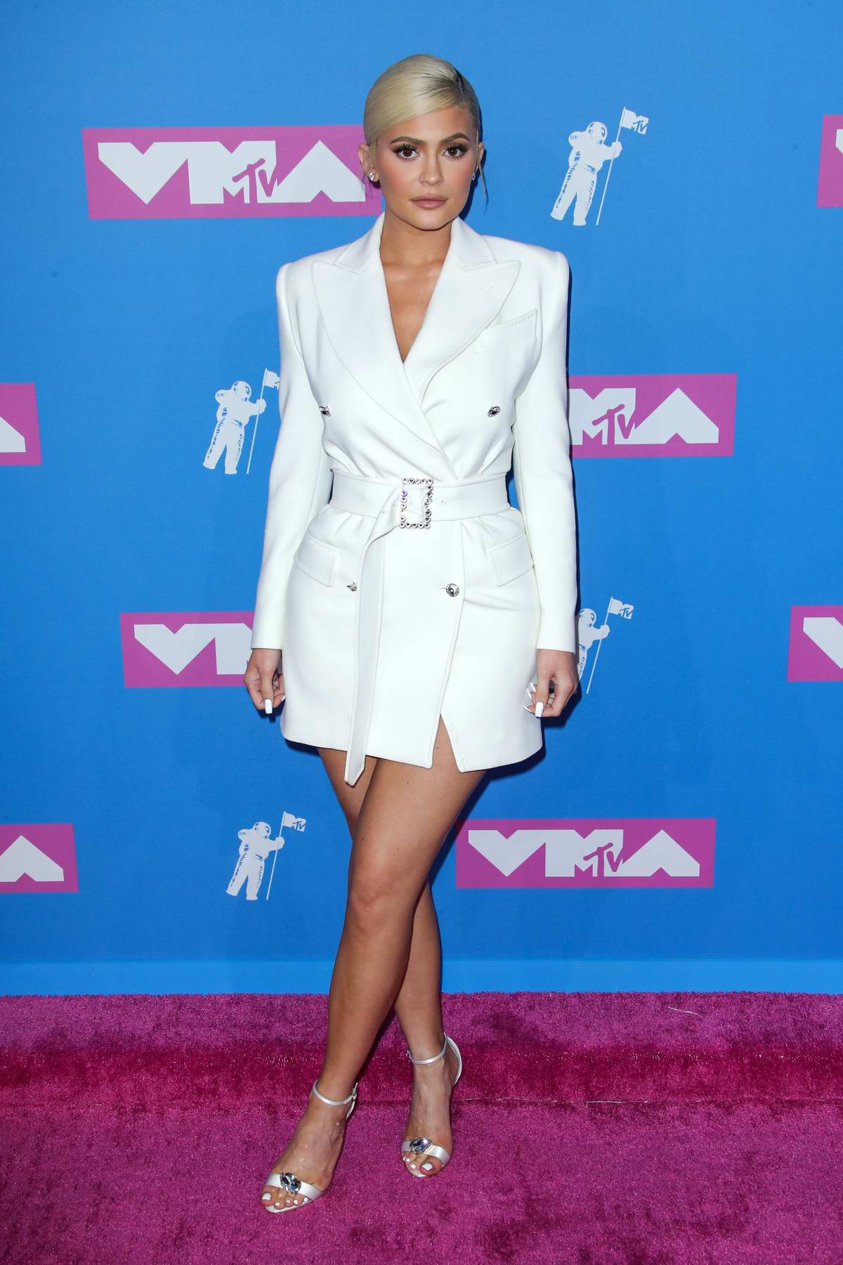 Kylie Jenner attends 2018 MTV Video Music Awards (MTV VMA 2018) at Radio City Music Hall in New York City