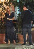Laura Vandervoort and Seth Macfarlane spotted during a dinner date in Los Angeles