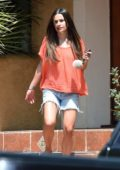 Lea Michele steps out without makeup during her trip to a beauty spa in Los Angeles