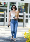 Lucy Hale grabs some groceries while out in Los Angeles