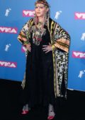 Madonna attends 2018 MTV Video Music Awards (MTV VMA 2018) at Radio City Music Hall in New York City