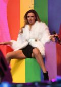 Nadine Coyle performs at The Manchester Pride Parade 2018 in Manchester, UK