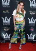 Paris Jackson attends Michael Jackson Diamond Birthday Celebration at Mandalay Bay Resort and Casino in Las Vegas, Nevada