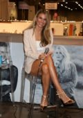 Rachel McCord at the WWD x Social House Panel during MAGIC Convention in Las Vegas, Nevada