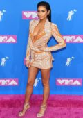 Shay Mitchell attends 2018 MTV Video Music Awards (MTV VMA 2018) at Radio City Music Hall in New York City