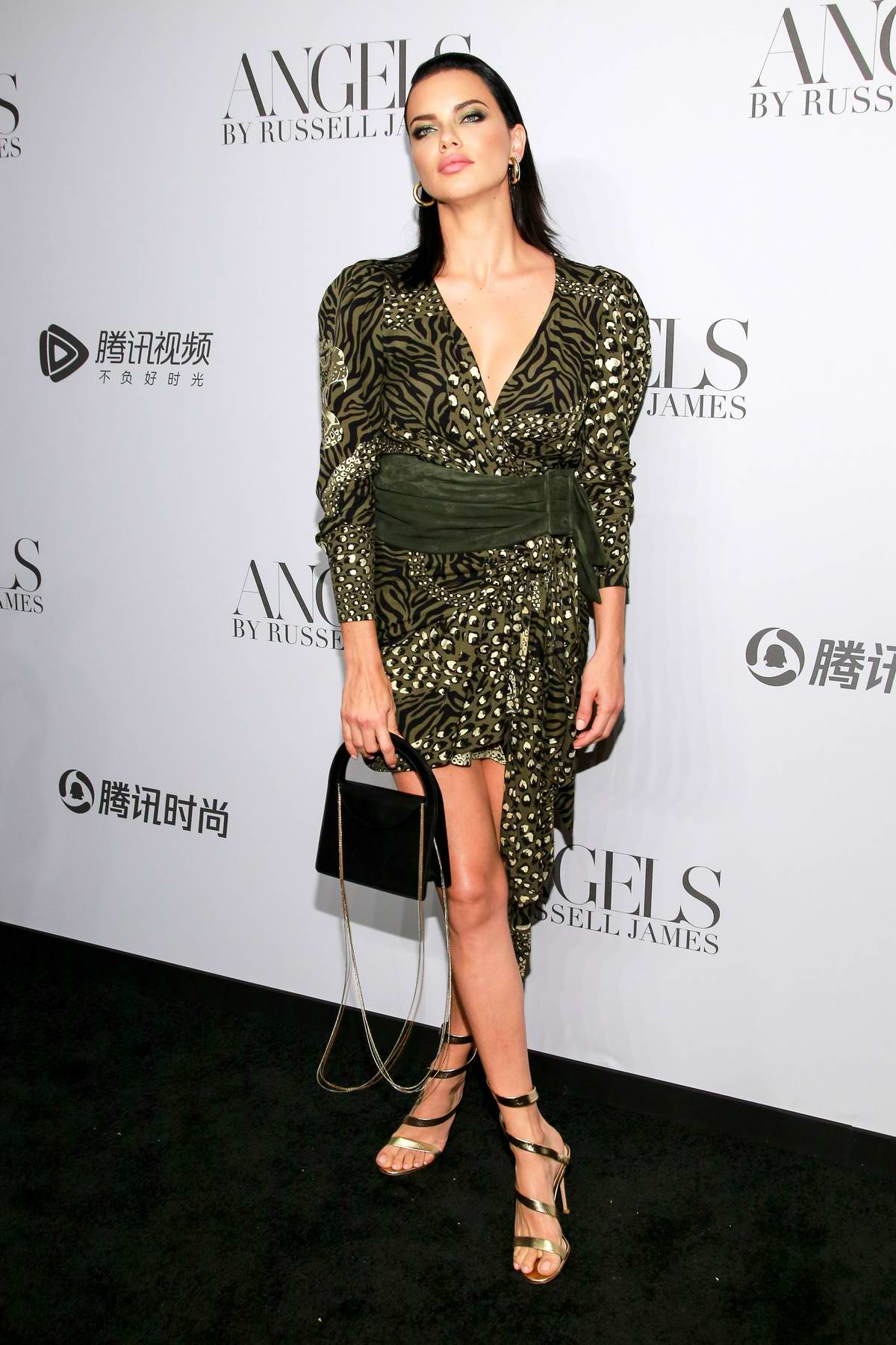 eb6231d67530c Adriana Lima attends  ANGELS  by Russell James Book Launch And Exhibit in  New York City