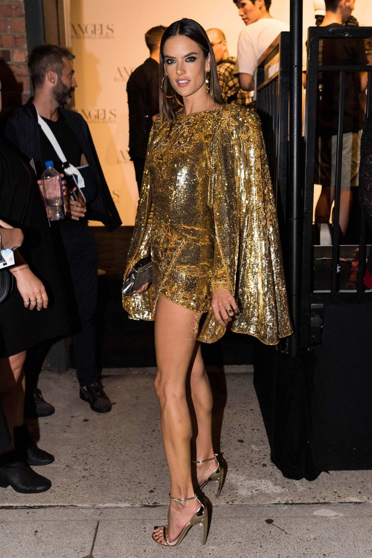 e20b052341ce9 alessandra ambrosio attends  angels  by russell james book launch ...