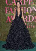 Alessandra Ambrosio attends the Green Carpet Fashion Awards, Italia 2018 in Milan, Italy