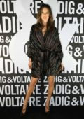 Alessandra Ambrosio attends the Zadig & Voltaire show during Paris Fashion Week in Paris, France
