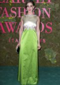 Alison Brie attends the Green Carpet Fashion Awards, Italia 2018 in Milan, Italy