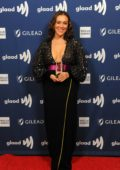 Alyssa Milano attends 2018 GLAAD Gala San Francisco in San Francisco, California