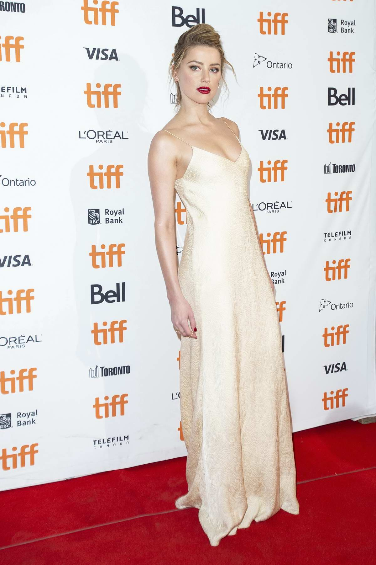 Amber Heard attends 'Her Smell' premiere during the Toronto International Film Festival (TIFF 2018) in Toronto, Canada