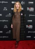 Amber Heard attends the 2018 Global Citizen Festival: Be The Generation at Central Park in New York City