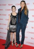 Anna Kendrick and Blake Lively attends 'L'Ombre D'Emilie - A Simple Favor' Paris Premiere at UGC Normandie in Paris, France