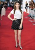 Anna Kendrick attends UK Premiere of 'A Simple Favour' at the BFI Southbank in London, UK