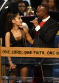 Ariana Grande attending Aretha Franklin's funeral in Detroit, Michigan