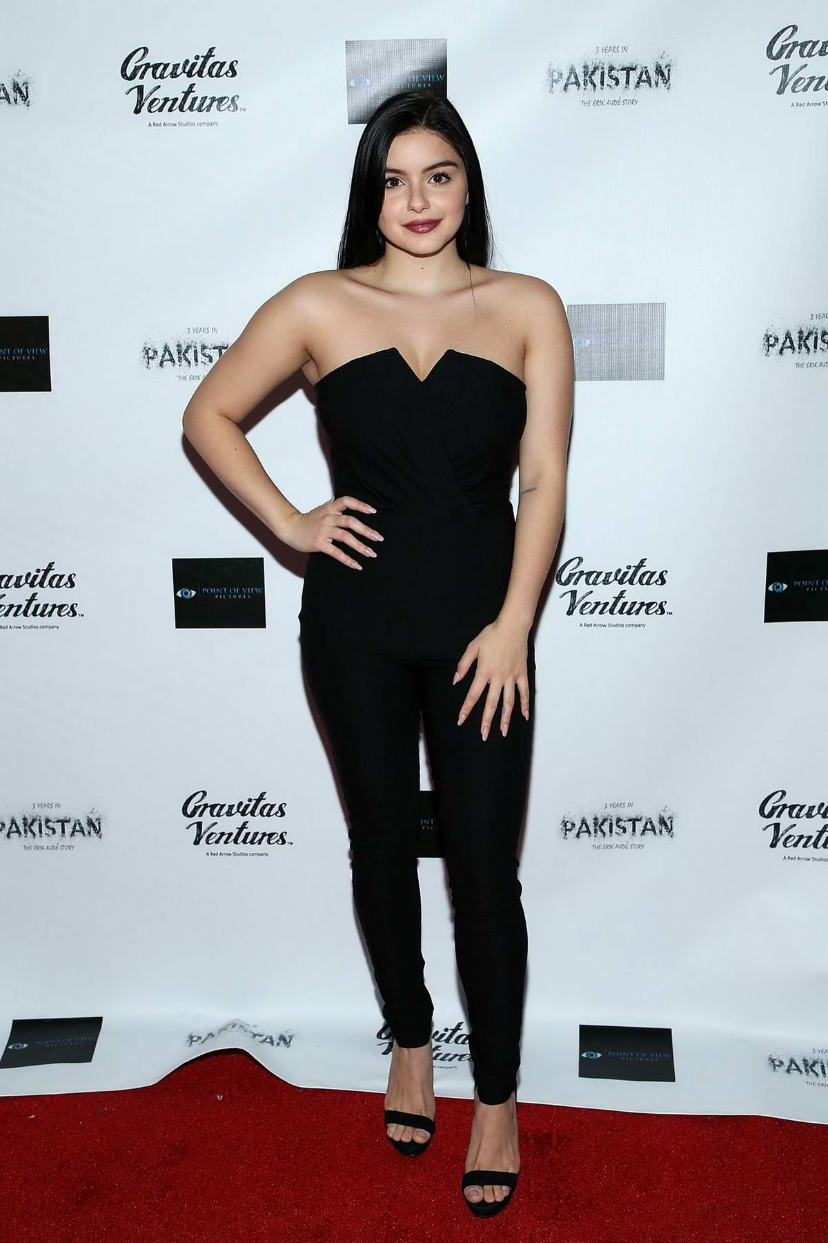 Ariel Winter attends the premiere of '3 Years In Pakistan: The Erik Aude Story' in Hollywood, California