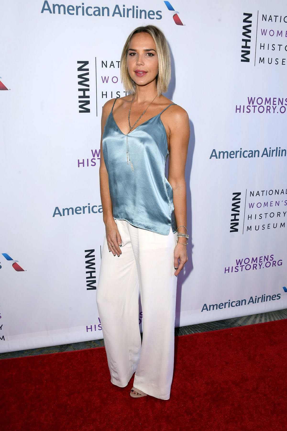 Arielle Kebbel attends 7th Annual Women Making History Awards in Beverly Hills, Los Angeles