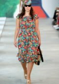 Ashley Graham walks the runway for Michael Kors Spring 2019 Collection during New York Fashion Week in New York City