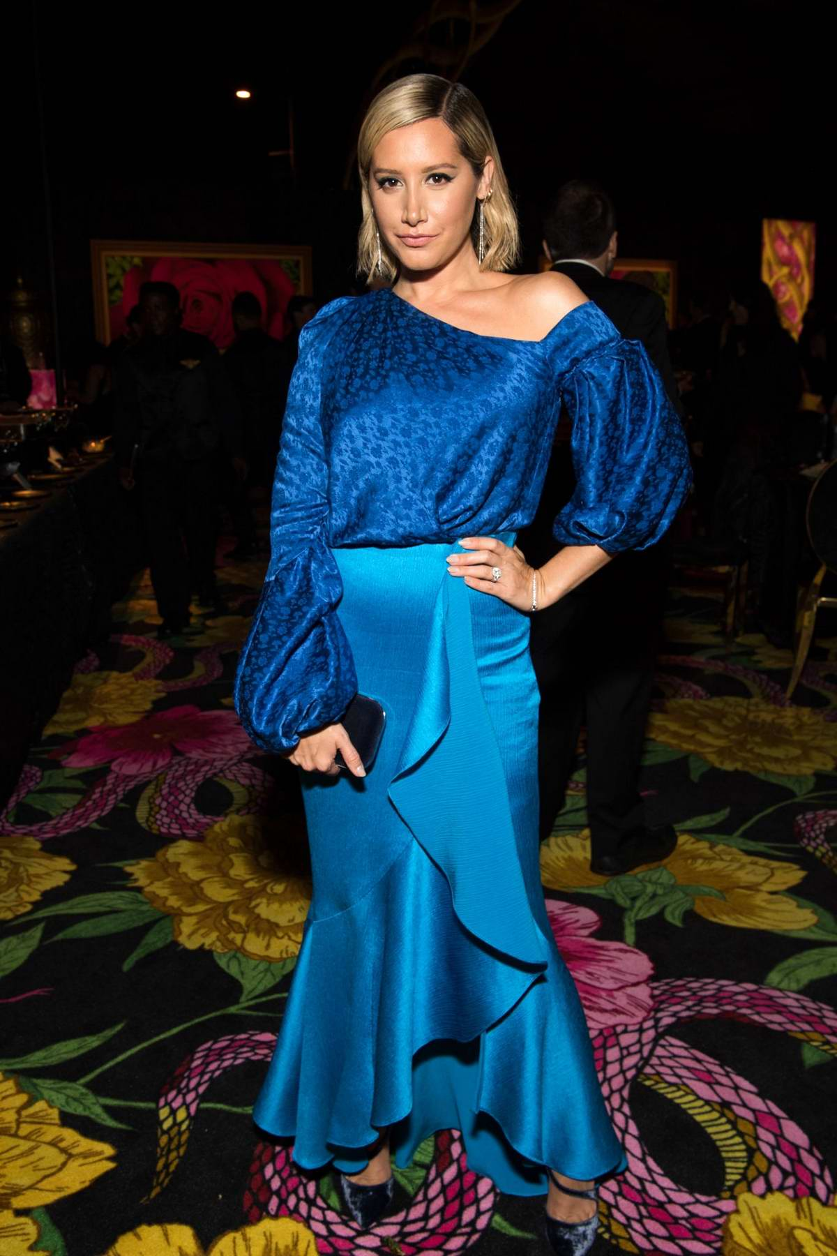 Ashley Tisdale attends 70th Primetime Emmy Awards HBO party at the Pacific Design Center in Los Angeles