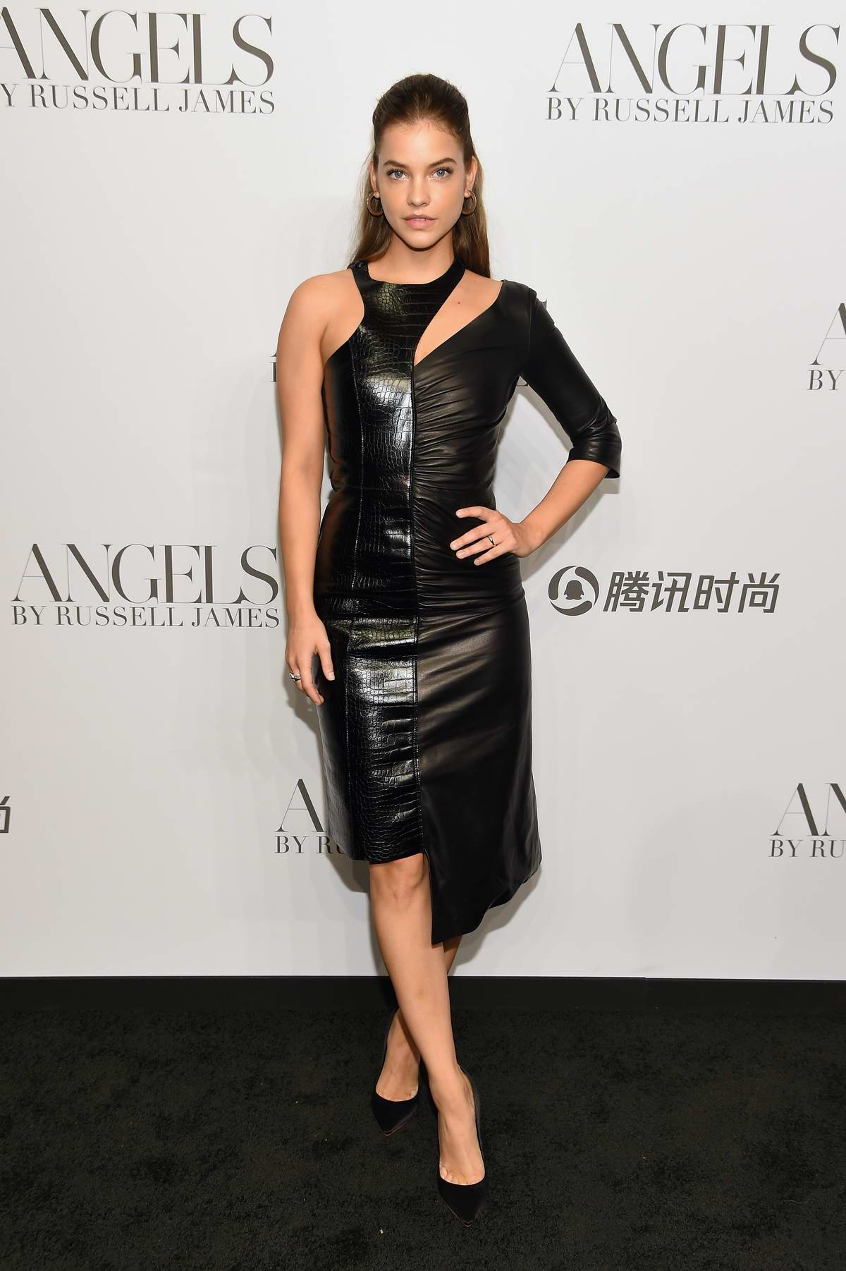 Barbara Palvin attends 'ANGELS' by Russell James Book Launch And Exhibit in New York City