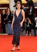 Barbara Palvin attends 'Suspiria' premiere during 75th Venice Film Festival in Venice, Italy