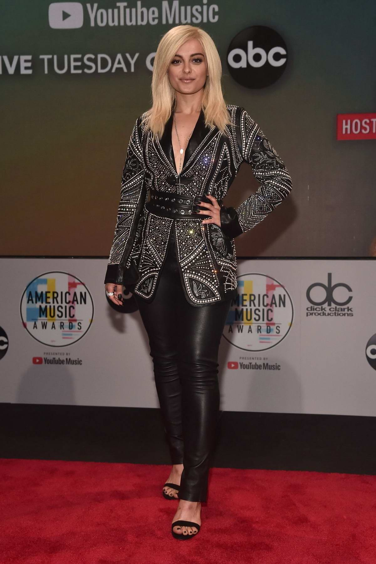 Bebe Rexha attends 2018 American Music Award Nominations Announcement in Los Angeles