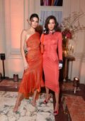 Bella Hadid and Kendall Jenner attends the Youtube Cocktail Party during Paris Fashion Week in Paris, France