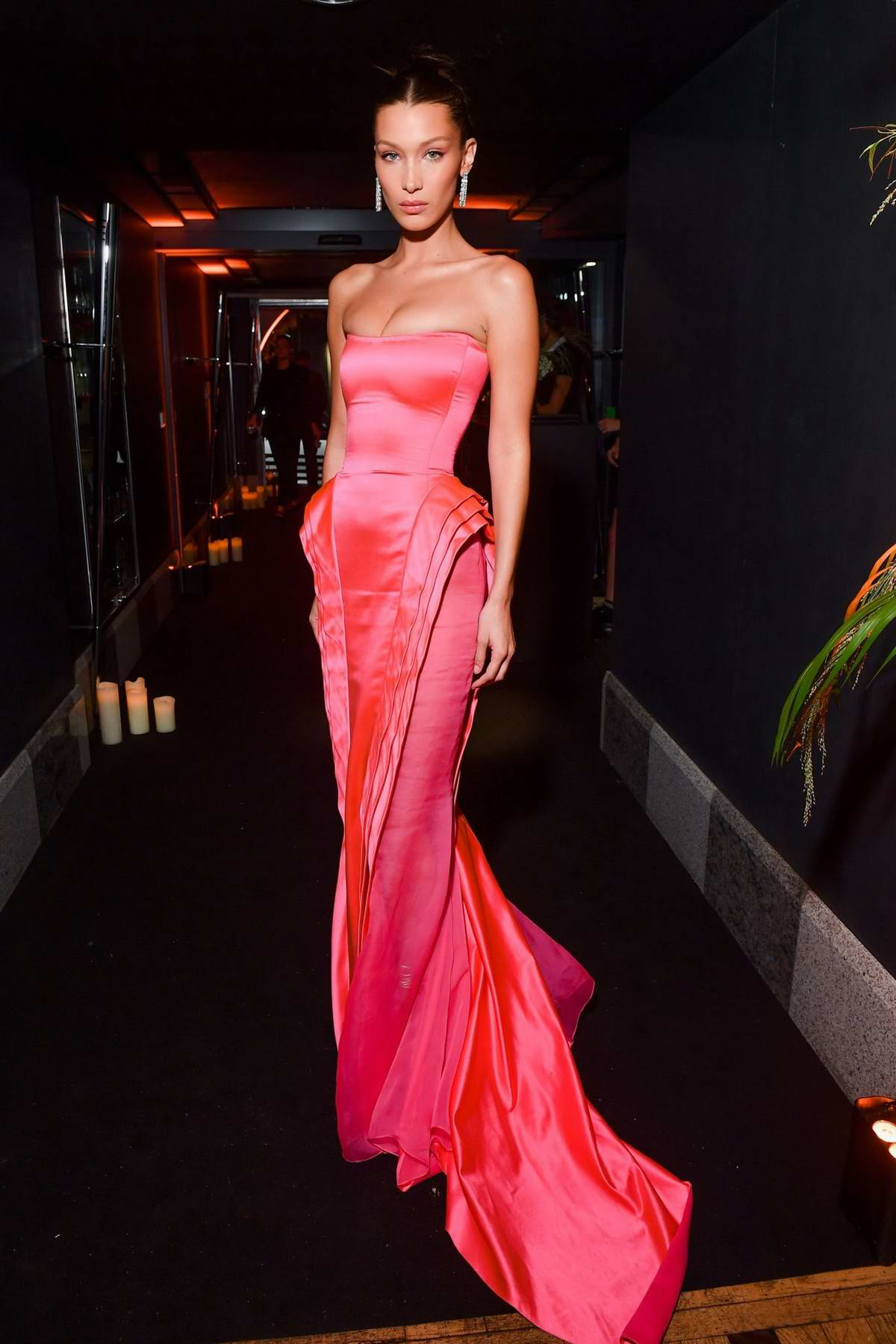 Bella Hadid Attends the Naked Heart France Gala Dinner