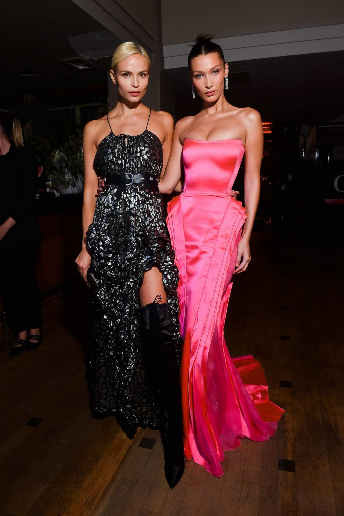 Bella Hadid Attends the Naked Heart France Gala Dinner in